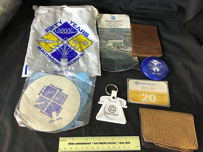 Old Vtg Collectible Baltimore Works Western Electric Grab Bag Full OF Fun
