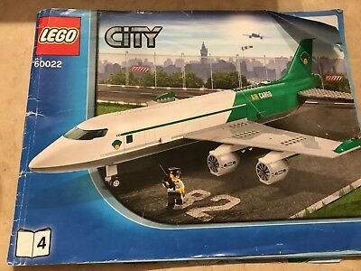 Lego City Airport Air Show Red Airplane Mint 318260104600223181