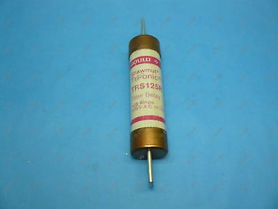 Shawmut TRS125R Time Delay Fuse Class RK5 125 Amps 600VAC/600VDC New