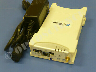 National Instruments NI WLS-9163 Wireless CompactDAQ Chassis / Module Carrier