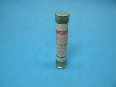 Shawmut TRS40R Time Delay Fuse Class RK5 40 Amps 600VAC/600VDC New