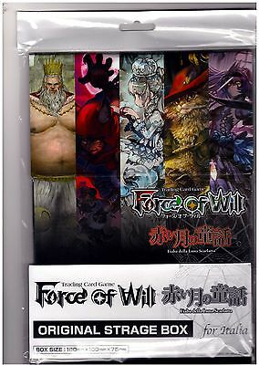 OFFICIAL STORAGE BOX BOX CARD CASE Force of Will Fow (up to 400 Cards)