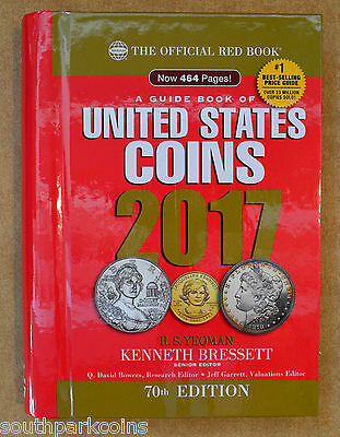 2017 Hidden Spiral Redbook - The Official Guidebook To United States Coins
