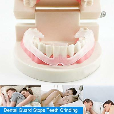 Teeth Grinding Protector Anti-Snoring Mouth Guard Stop Bruxism Sleep Tool O7V6