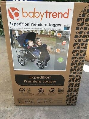NEW Infant Car Seat Baby Trend Expedition Premiere Jogger Travel System Stroller