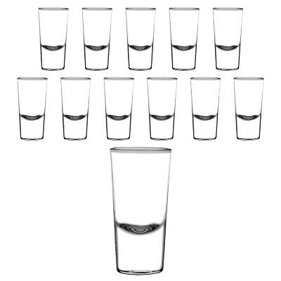 12x Shot Glass 25ml Olympia Commercial Bar Shooter Spirits Shots Shotglass