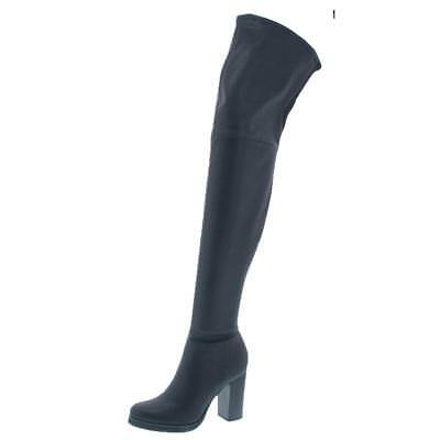 4f7b1ca657d Calvin Klein Jeans Womens Bisma Black Over-The-Knee Boots 9 Medium (B,M)  4423 Guaranteed Authentic Calvin Klein Jeans MSRP: $189.00