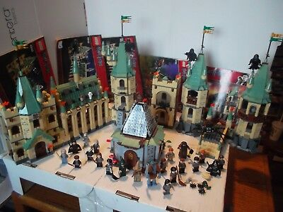 Lego Harry Potter 4842 4867 4738 100 Complete Lot Figures Books Many Extras