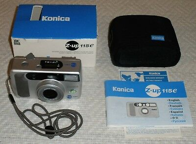 ★★★ SUPER COMPACT CAMERA - Konica Z-UP 115e - 38 bis 115mm Zoom ★★★