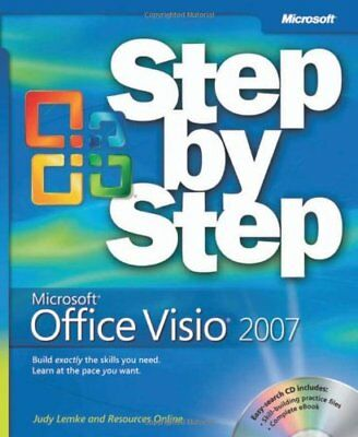 Microsoft Office Visio 2007 Step by Step Book/CD Package (Step By Step (Microso