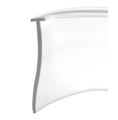 Prime Line T-Style Tip 36 Inch Length Clear Vinyl Shower Door Bottom Sweep Seal
