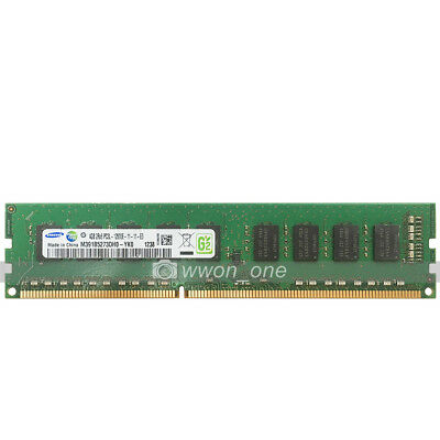 Samsung 4GB 8GB 16GB PC3L-12800E DDR3-1600Mhz 240Pin ECC Unbuffered Server RAM