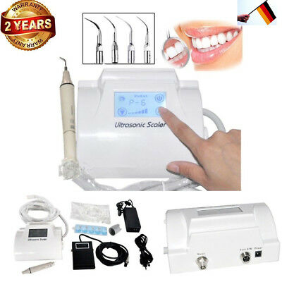 Dental Ultraschall Piezo Scaler Zahnsteinentferner LCD Woodpecker Stil For EMS