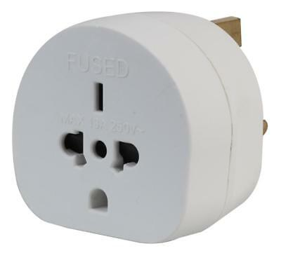 Travel Adaptor All Continents To Uk White - Pel00140