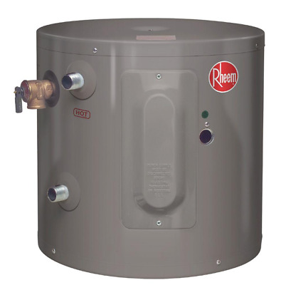 Water Heater Performance 6 Gal 2000 Watt Single Element Electric Point Usage