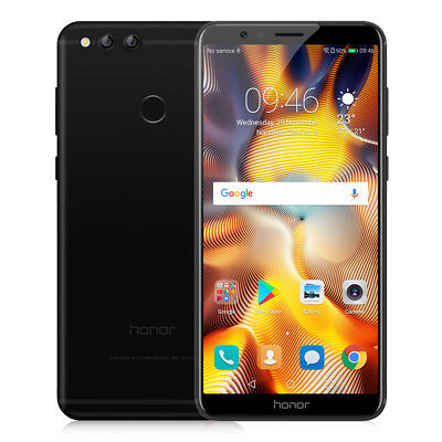 "Huawei Honor 7X 5.93"" 18:9 Android 7.0 4G Smartphone 3-Cam 4GO+64GO Octa-Core"