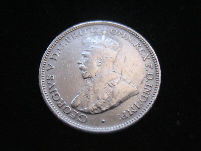 """Mds Australien Sixpence 1921 """"george V."""", Silber    #42"""
