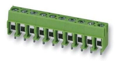 TERM BLOCK PCB SCREW 5.0MM 8WAY Connectors Terminal Blocks