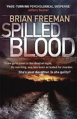 Spilled Blood by Brian Freeman (Paperback) Book