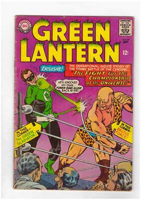 Green Lantern # 39 Practice Makes the Perfect Crime !  grade 3.5 scarce book !!