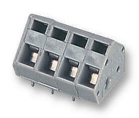 Terminal BLOCK PCB 4WAY Connectors Terminal Blocks - 236-404 - Pack Of 5