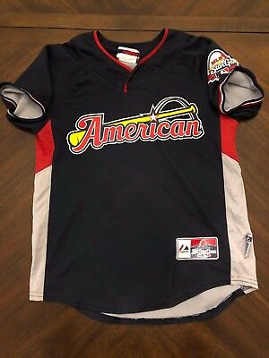 Majestic American League 2009 All-Star Jersey McQuerrey Navy Blue Youth Size M