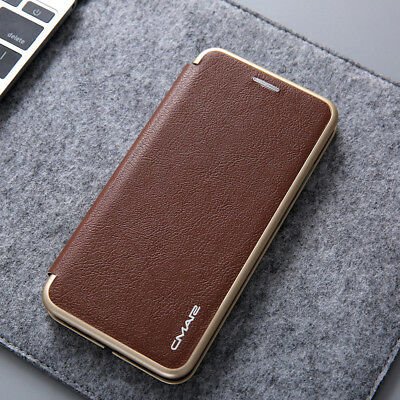 Luxury Flip Leather Wallet Card Magnetic Soft Case Cover Huawei P20/Pro/Lite