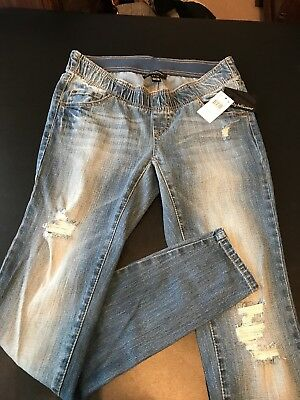 Wendy Bellissimo Skinny Leg Maternity Jeans Jeggings  New With Tags Size Small