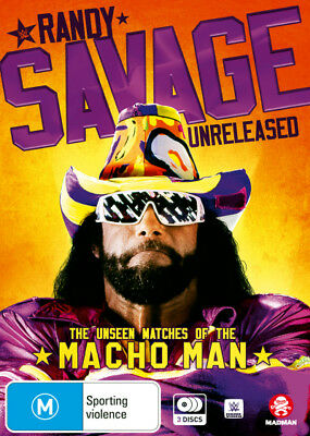 WWE: Randy Savage Unreleased - The Unseen Matches of the M  - DVD - NEW Region 4