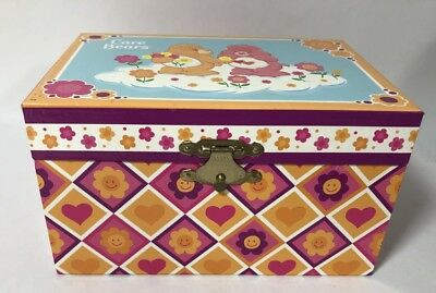 Care Bears Musical Jewelry Box Wind Up Music Tri-Star 2003
