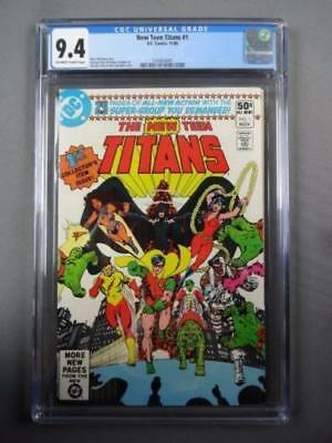 New Teen Titans #1 CGC 9.4 White Pages-Marv Wolfman & George Perez-DC Comics
