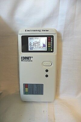 CORNET MICROSYSTEMS ED178S Electrosmog Meter With Guass Meter Function