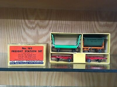 Lionel Standard Gauge 163 Freight Accessory Set with OB