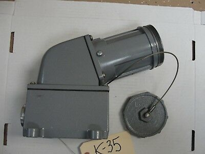 Used Thomas & Betts, Russellstoll, receptacle, 7324-78,  60A, 250V600VAC