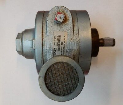 New Gast Manufacturing Pneumatic Air Motor 4 Vane Reversible 4Am-Nrv-22F