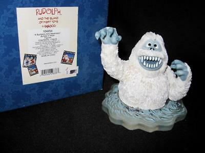 MIB Enesco Rudolph Island of Misfit Toys A BUMBLE'S ONE WEAKNESS 104254 In Water