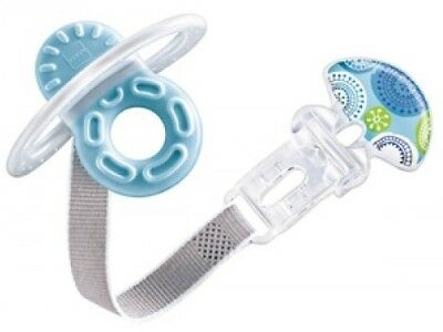 MAM Bite & Relax Teether Phase 1 with Clip - Blue