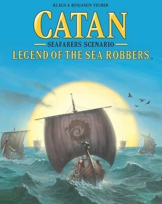 Catan: Legend of the Sea Robbers - Board Game Expansion