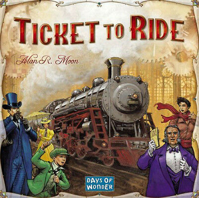 Ticket to Ride: USA Board Game