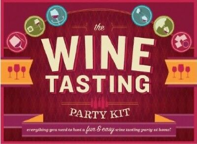 The Wine Tasting Party Kit: Everything You Need To Host A Fun & Easy Wine Tas...