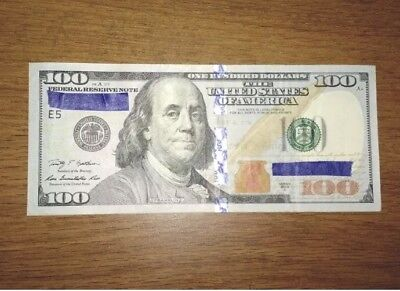 $100 Bill (One Hundred Dollar Bill)-Lightly Circulated Real and spendable money