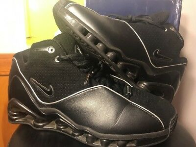nike air shox vc 2 bb4 all star game size 10.5 prm black foamposite vince  carter 7b6767aee