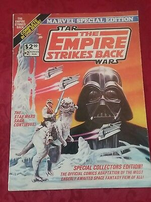Marvel Special Edition The Empire Strikes Back  #2 (1980) Star Wars Comics