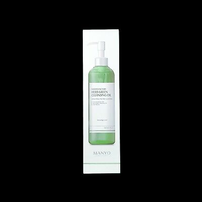 Manyo Factory Herb Green Cleansing Oil 200mL Face Makeup Remover Korea Skincare