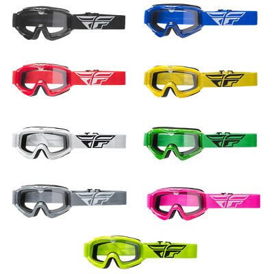 2018 Fly Racing Focus Adult Offroad Motocross Goggles