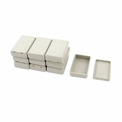 10pcs Plastic Electronic Project Case Junction Box 58mmx35mmx15mm E X6F8