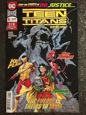 Teen Titans Special #1 First Appearance Of New Team Dc Comics