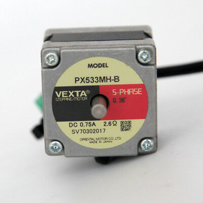 PX533MH-B VEXTA ORIENTAL MOTOR STEPPING MOTOR 5 PHASE craniocaudal axis 5mm