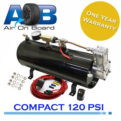 680 Air compressor 12 V system air bag suspension ride Train Truck Horn 120 psi