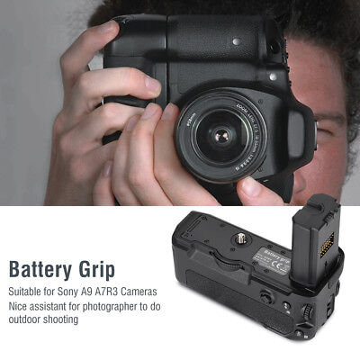 Mcoplus VG-C3EM Durable Camera Vertical Battery Grip for Sony Alpha A7R3 Cameras